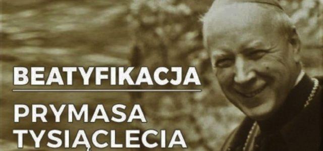 Beatyfikacja Stefana Wyszyńskiego Patrona Szkoły